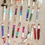Popsicle stick dolls