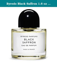 Byredo Black Saffron 1.6 oz Eau de Parfum. Black Safforn, an oriental composition, opens with the bright citrus note of the Asian pomelo and crisp juniper berries, mellowed into a golden silage by Kashmiri saffron. At its heart, lies black violet fused with a leather accord, their dark, dry composition born alot by the delicate transparency of cristal rose. At the base, blond woods add radiant warmth and harmony, punctuated by staccatoed flashes of luscious raspberry. The journey…