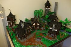 Guide to building a detailed medieval village 271 | by - Derfel Cadarn -