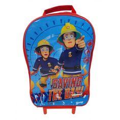 Fireman Sam Wheeled Trolley Bag