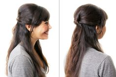 Day 4: Three minutes to chic, 7 Hairstyles You Can Do in 10 Minutes Flat