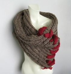 Laced up Neck Warmer