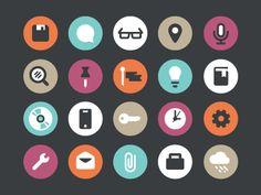 Icons-01 / Flat icons / #flat #icons
