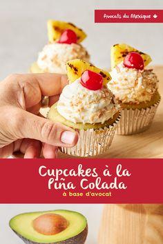 Le dessert parfait: délicieux et santé Pina Colada, Dessert Parfait, Cupcakes, Muffin, Breakfast, Desserts, Food, Toasted Coconut, Mexico