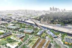 City officials have big plans for the Los Angeles River. One day this may be the site of a thriving urban agricultural hub.