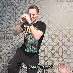 Because Tom Hiddleston danced for us. In his pajamas. In bed. | 51 Reasons 2013 Was The Best Year Ever To Be A Nerd  I just love this. Too much. Ovaries have exploded.