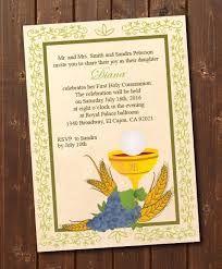 holy communion invitations