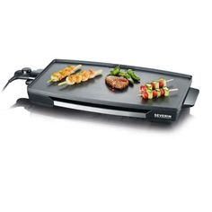 Portable Electric Teppanyaki Table Top Grill Crêpière barbecue jardin camping