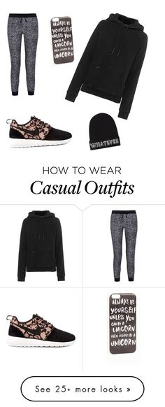Casual by angel-kassem on Polyvore featuring мода, adidas Originals, Splendid, NIKE, JFR и Local Heroes