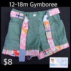 Gymboree 12-18m Infant Girls Sash Belt Mix & Match Shorts $8 https://baby-girl-heaven.myshopify.com/products/gymboree-12-18m-infant-girls-sash-belt-mix-match-shorts-8