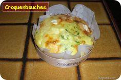 Recette - Quiches sans pâte au camembert et aux courgettes dans la boîte | Notée 5/5