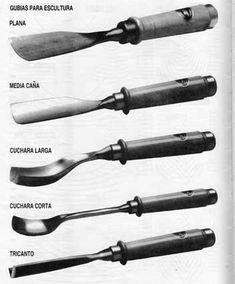 24 Herramientas Gubias tallado en madera
