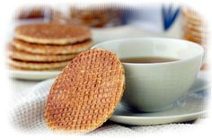 Dutch Stroopwafel recipe. Husband is dutch and their family gets these shipped overseas. It would be a nice treat for me to show up with them homemade!