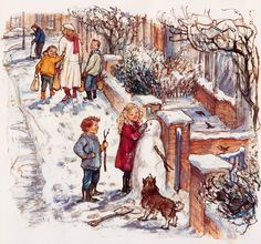 The Snow Lady - Shirley Hughes