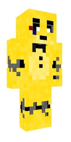 Fnaf Minecraft, Minecraft Skins, Freddy 3