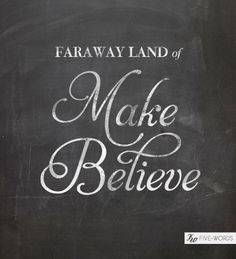 <3 Make Believe + Magic + Fairy Tales =  Dish and Spoon Productions <3