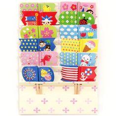 kawaii food picks flags for Bento Lunch Box fish ice cream