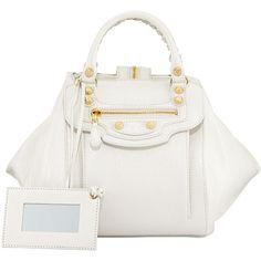 Balenciaga Giant Gold Zip Traveler Extra-Small Backpack