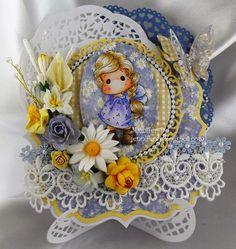 JenniferD's Blog: Marvelous Magnolia - Pearls and Lace