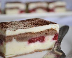 Tvarohovo-ovocny zakusok Slovak Recipes, Czech Recipes, Russian Recipes, Ethnic Recipes, Gluten Free Cakes, Sweet Recipes, Food To Make, Sweet Tooth, Food Art