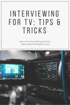 A TV interview doesn't have to be all that terrifying. It can, believe it or not, be really invigorating! As with anything else, confidence and preparation go a long way. Fly Away Hair, Say What, Do Your Best, All You Can, Body Language, Be Yourself Quotes, Awkward, Knowing You, Acting