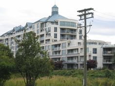 A picture of Lighthouse Place taken from the West Richmond Trail and No. 2 Road near to Richmond's Olympic Oval. Lighthouse, Vancouver, Trail, Multi Story Building, City, Places, Pictures, Bell Rock Lighthouse, Photos