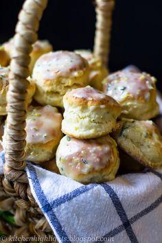 Lemon Rosemary Scones - Taste of Britain