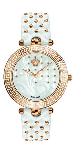 The Versace Vanitas watch, with its timeless, luxurious and highly glamorous style. #VersaceWatches #Versace
