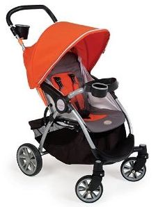 ... stand, one-hand fold. Max weight 4o lbs. Stroller weight: 13.7 lbs