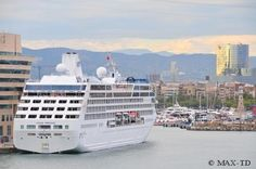 Ocean Princess in Barcelona