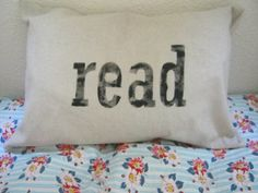 Read pillow $25.00