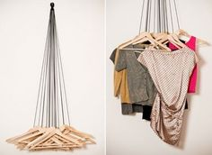 20 Hangers Wardrobe by Alice Rosignoli.