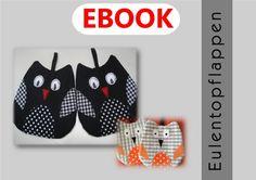 "EBook ""Eulentopflappen, Anleitung u. Schnittmuster von UNICO auf DaWanda.com"