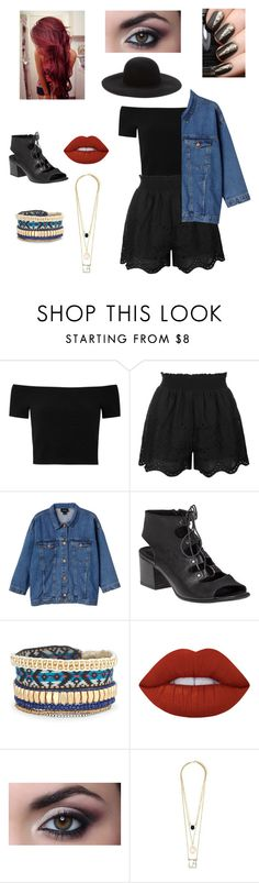 """""""Untitled #78"""" by aiyana-spn on Polyvore featuring Alice + Olivia, Topshop, Monki, 275 Central, Stella & Dot, Lime Crime and Forever 21"""