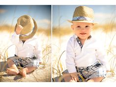 So absolutely adorable!  I love the hat!  Jessie Holloway photography