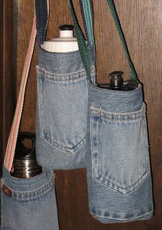 Water Bottle Holder/Carrier Sewing Pattern from: Pickin' and Throwin'