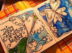 great inspirational art style