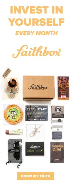 Every Faithbox is filled with products from amazing companies that are making a positive impact and a daily Christian devotional to help you strengthen your faith every day! Plus, every box shipped provides 3 meals to hungry kids all over!