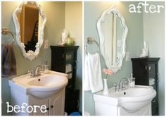 Staging a Home can be Very Simple as this picture shows {Home Staging 101} Part 4: Staging Bathrooms
