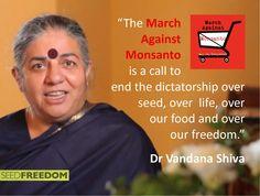 Vandana Shiva, #seed #GMO