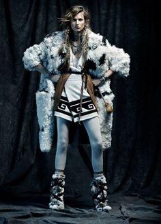 Bette Franke by Tob Knott for Vogue Spain November 2014