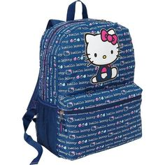 Old Navy Girls Hello Kitty Backpacks ($20) ❤ liked on Polyvore