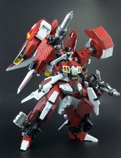 "Custom Build: 1/144 Alteisen Reise ""Renovation Type"" - Gundam Kits Collection News and Reviews"