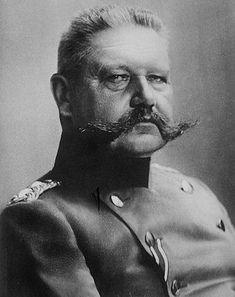 Germany.  Field Marshal Paul von Hindenburg, WWI