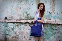 Mod blue Ostrich Leather Juliet Bag #jennifermiddletonbags #luxurydesignerbags www.jennifermiddletonbags.com The Ostrich, Beautiful Lines, Creating A Brand, Photoshoot, Elegant, Chic, Leather, Bags, Color