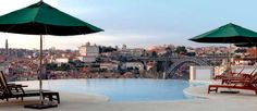Hotel in Porto with views over the city and Douro