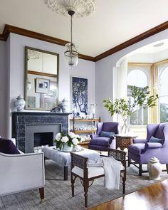 Kate Cordesen design. Hydrangea Hill Cottage: Moodboard Monday - Lilac Lovelies