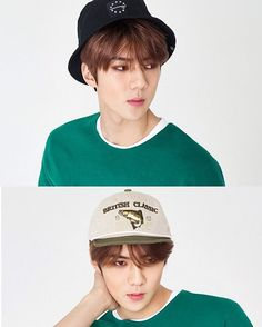 Sehun - 160511 Hat's On website update Credit: Hat's On. :8 why is he so goodlooking