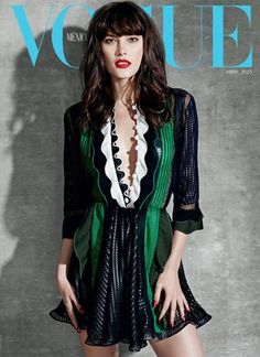 Catherine McNeil stars three covers of Vogue Mexico & Latin America April 2015 [Covers]
