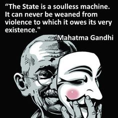 Gandhi on the State.